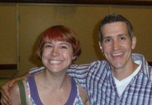 Side-hugging Jon Acuff