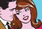 Image via http://www.istockphoto.com/stock-illustration-13593516-pop-art-couple.php